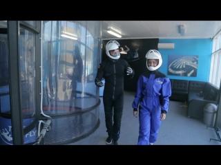 Воздушное приключение! Аэротруба в Иркутске!