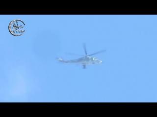 Сирия.Бомбовые удары ВВС САР по позициям боевиков в городе Тейр Маалах,севернее Хомса.Декабрь 2015.
