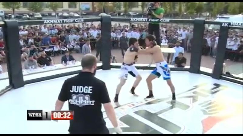 WFCA «Грозная битва 10» Рустам Камготов vs Билал Умаев
