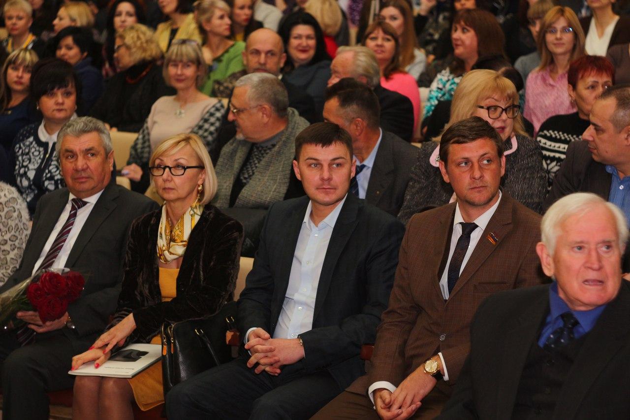 Игорь Семенчев принял участие в праздновании 99-летия ХГУ