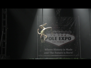 Kira Noire - The Winner of Pole Classic Competition Pole Expo 2016, Las Vegas, USA