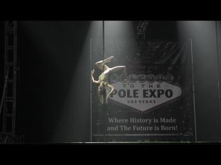 Kira Noire - The Winner of Pole Classic Competition Pole Expo 2016, Las Vegas, USA