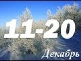 ГОРОСКОП на каждый день с 11 по 20 ДЕКАБРЯ 2015 для всех знаков зодиака . Гадание на картах таро