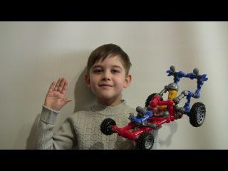 Детские машинки и я  Марат их собираю - видео для детей, как собрать гоночный DRAGSTER.