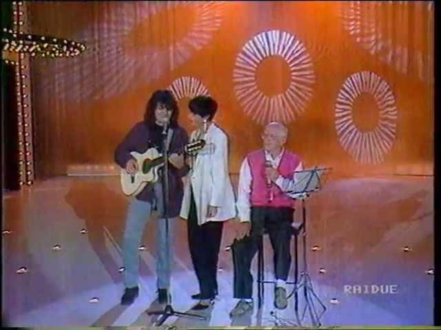Mia Martini Cu'mme con Roberto Murolo e Enzo Gragnaniello a Serata D'onore 1992