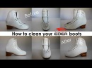 How to clean Edea skating boots - Leather ones Ice Fly and Piano