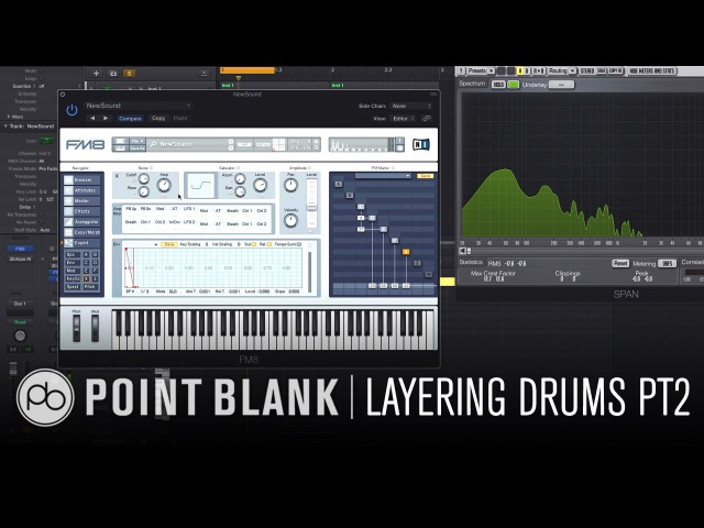 Sound Design w/ Icicle Part 2: Creating Hybrid Drums w/ FM8 Kontakt