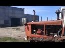 Эпичный запуск двигателя А-01М на гусеничном тракторе Т-4А после длительного прос...