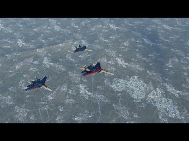 Начало летной смены RAF / DCS:W 1.5 [ULTRA SETTINGS]