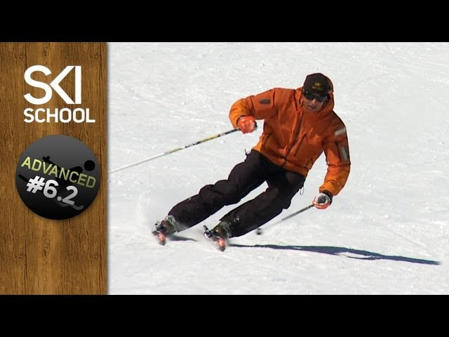 Carving - How to Carve on Skis - Advanced Ski Lesson 6.2