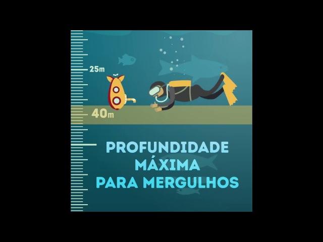 Qual a profundidade do mar