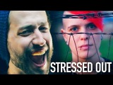 Stressed Out (Twenty One Pilots) Punk goes Pop style METAL COVER Jonathan Young &amp KtheScreamer