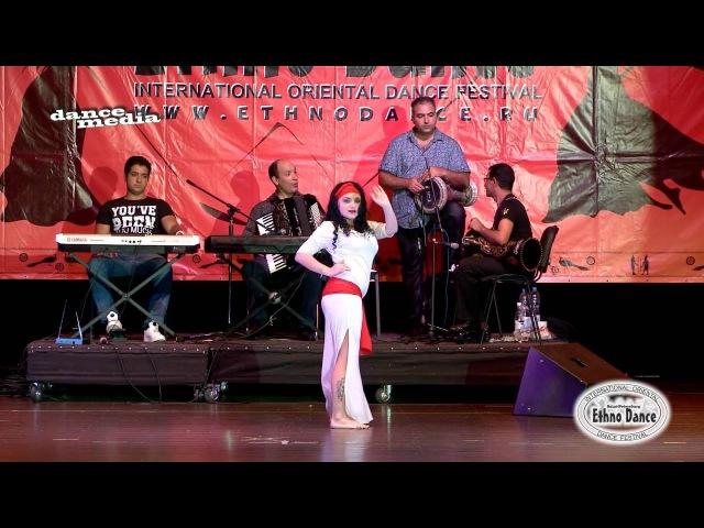 Anastasiya Postnova. Winner Baladi improvisation with Reda Saad Orchestra Al Azdikaa.