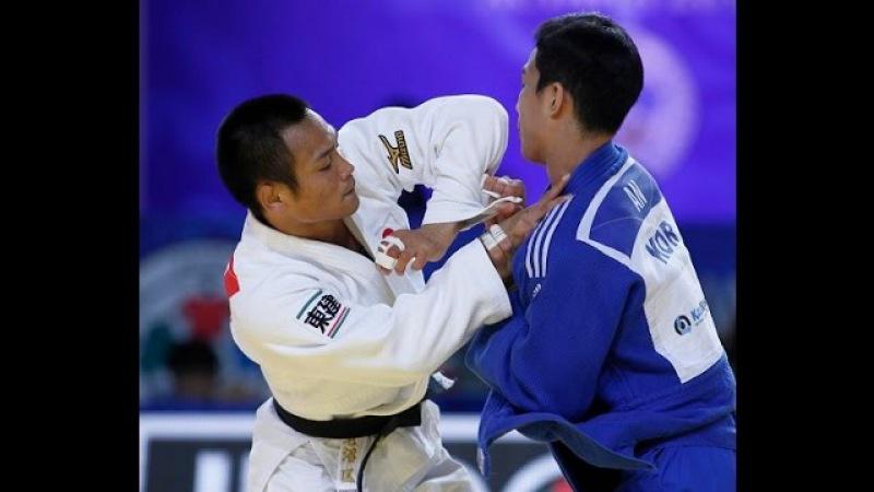 Final Judo 66kg15,Ebinuma(JPN)vs An(KOR)Astana 2015,Team contest