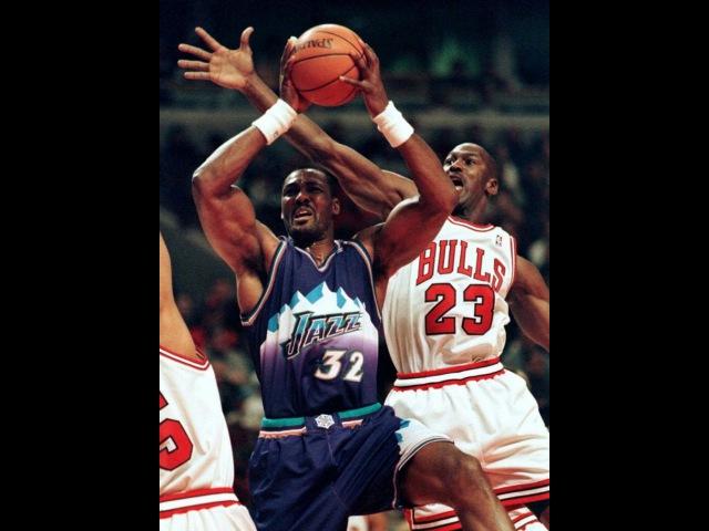 NBA Finals 1997_Chicago Bulls - Utah Jazz_Game 5 ч.3(рус. ком.нтв)