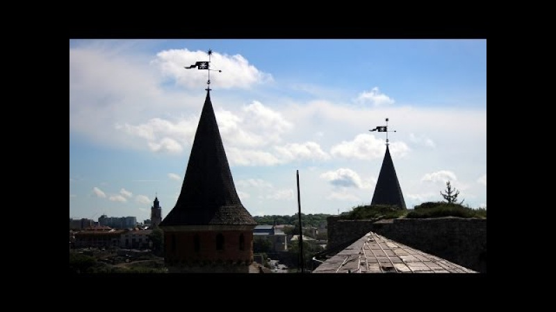 Старая крепость Каменец Подольский 7 чудес Украины
