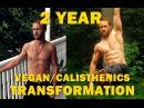 2 Year Transformation Vegan Calisthenics