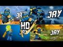 LEGO® Ninjago JAY in all seasons 3 4 5 6 Fan-Made OFFICIAL HD