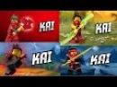 LEGO® Ninjago Kai in all seasons 3 4 5 6 (Fan-Made) OFFICIAL HD