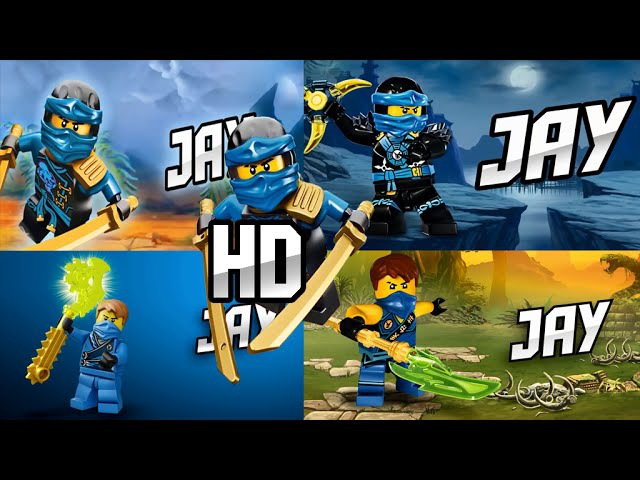 LEGO® Ninjago JAY in all seasons 3 4 5 6 (Fan-Made) OFFICIAL HD
