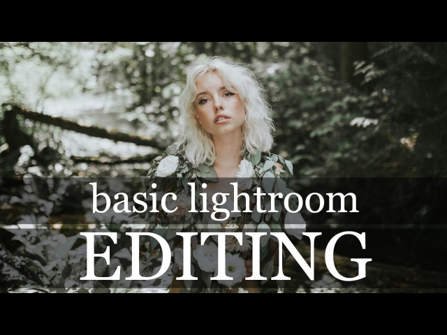 HOW I EDIT MY FASHION PHOTOGRAPHY easy basic lightroom portrait tutorial