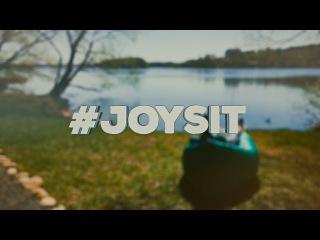 JoySit - надувной диван, который не требует никаких насосов!