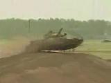 Гимн ГСВГ! Танк Т-80 на полигоне Вюнсдорфа