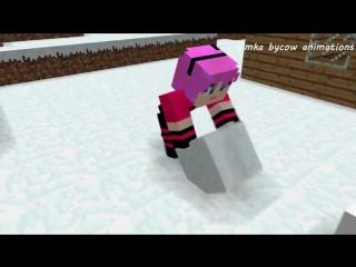 Диллерон и Миникотик. Малыш Эндермен. Minecraft М