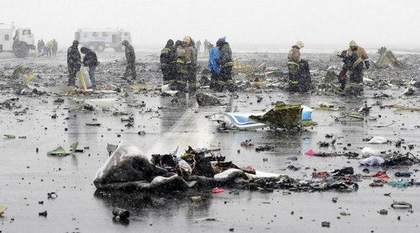Названа причина падения Boeing в Ростове-на-Дону
