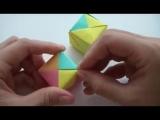 Как сделать кубик оригами