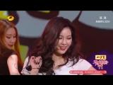 160222 Hyuna - Roll Deep + Red + Bubble Pop @ 2016 HunanTV Lantern