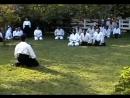 Стивен Сигал со студентами по айкидо [2001]