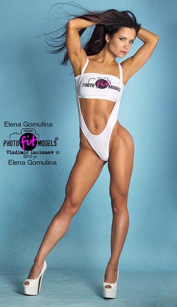 Елена Гомулина фитнес бикини