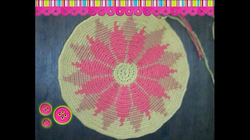 Cómo tejer una mochila estilo wayuú part 2