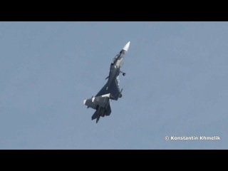 Фигуры высшего пилотажа Су 30СМ (4К)