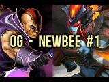 OG vs Newbee Epicenter Playoffs UB Game 1 Dota 2
