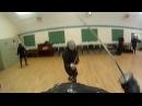 HEMA FENCING Schola Gladiatoria military sabre fencing Wenzhe vs Matt