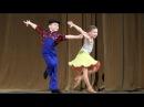 00605 Sewing-machine Ballroom Dance Show Шоу-номер Танец Дети Конкурс Юные таланты