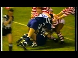 Wigan v Bath Clash of the Codes - May 1996 (Rugby League Match)
