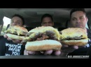 First Time Eating Five Guys Burgers @hodgetwins