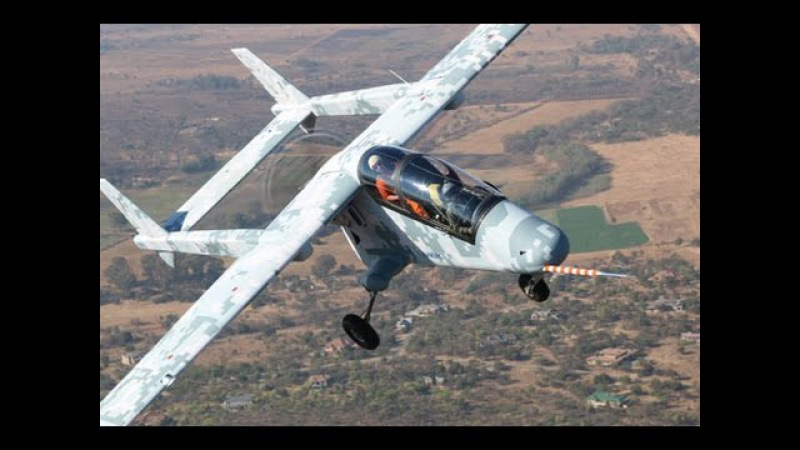 South African Military AHRLAC Light Reconnaissance Aircraft
