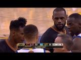 LeBron Blocks Steph Curry & Exchange Words | Cavaliers vs Warriors - Game 7 | 2016 NBA Finals