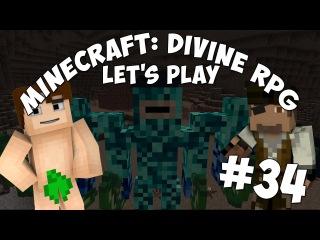 MINECRAFT: DIVINE RPG | 60 FPS | 34 - КОРОЛЬ ЛУЧНИКОВ! (ОТ ЛИЦА КУБЫ)