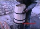 как сделать деревянную кадку 1. Barrel homemade.
