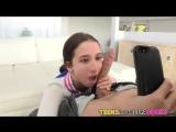 Селфи с большим членом  Belle Knox selfie with big cock 18+  30STF