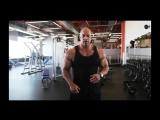 Мастер класс Victor Martinez. Тренировка мышц груди