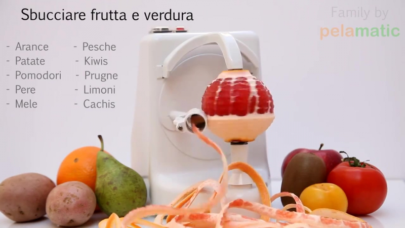 Идеальная чистилка для фруктов