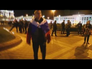 Как белорусы в Минске отреагировали на провокатора с триколором