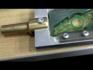 Восковая модель зажима для галстука, сделана на станке Стриж-2