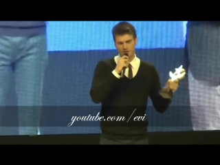 KIVANC TATLITUG Best Admired Actor Award Yildiz Teknik Universitesi - 2013